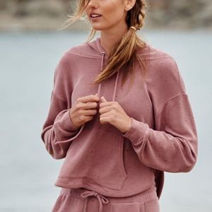 Back Into It Hoodie in Blush by FP Movement